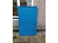 DOG CAGE BLUE 48INCH