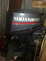 1996 8 HP Yamaha 2 stroke short shaft Outboard