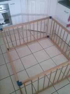 Kids Wooden Large Square Playpen like New Gold Coast Region Preview