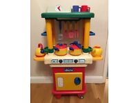 Chicco kids play kitchen with lots of accessories