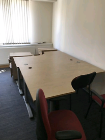 Corner managers office desks in oak for sale  Belfast City Centre, Belfast