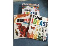 2 x Lego book set in box