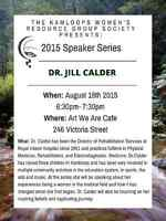 KWRGS Speaker Series Presents: Dr. Jill Calder