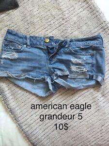 Plusieurs shorts *BON PRIX POUR LE LOT