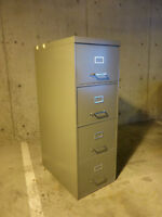 Filing cabinet, steel, 4 drawers