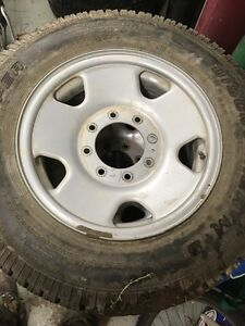 """17"""" super duty rims and tires F-250-350 Prince George British Columbia image 1"""