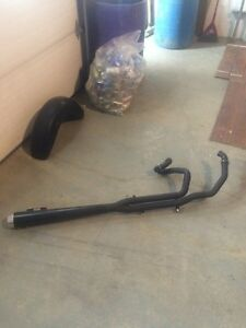 Exhaust for Harley Davidson bagger