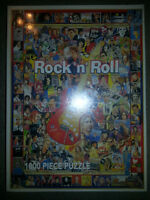 AWESOME 1000 PIECE ROCK AND ROLL PUZZLE STILL FACTORY SEALED!!!!