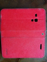 Cellphone wallet case/Red cellphone cover