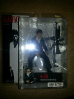ALOT OF SCARFACE TOYS NEW IN THE BOX.  mint...