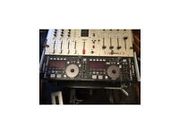 Digital DJ Controller and Mixer. Denon DN-HC4500 & Studiomaster Fusion+. Karaoke and Disco.