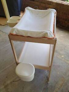 Ikea Sniglar Baby Change Table with Change Mat, Cover and Tubs Hawkesbury Heights Blue Mountains Preview