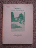 Bonshaw A Stroll through its past - Wm & Elizabeth Glen