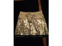 Ted Baker stunning sequin girls skirt