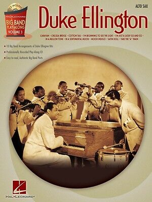 Duke Ellington Alto Sax Big Band Play-Along Book and CD NEW 000843086