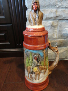 Selling Two Large Beer Steins Hand Painted Ceramic - $26 each Kitchener / Waterloo Kitchener Area image 7