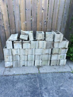 Free Cinder Blocks in very good condition