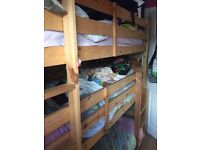 3 bed bunkbed