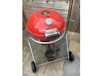 Outback charcoal kettle BBQ red with starter