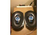6x9 car speakers parcel shelf (stereo sub amp)