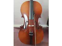 For Sale Boosey & Hawkes full-size cello with bow and case