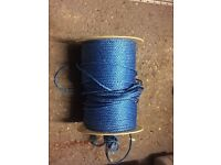 Blue rope over 200m