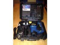 Sds rotary hammer drill 230v new hard case box bits Chuck key ect