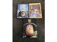 3 DVDs Disney