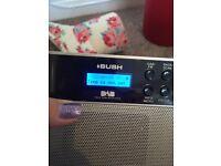 BUSH DAB Digital Radio and Alarm clock