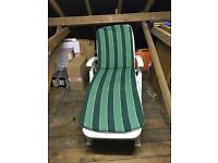 x2 sun lounger with cushion covers