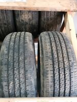 Cheap set of 2  ----215/65/16 Michelins
