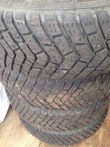 205/70/15 set of tires rims 5x114.3 $280