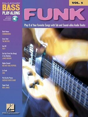 Funk Sheet Music Bass Play-Along Book and Audio NEW 000699680 ()