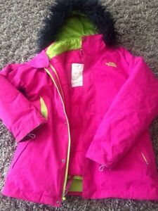 Girls NorthFace winter jacket
