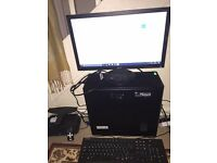 Desktop pc with extras