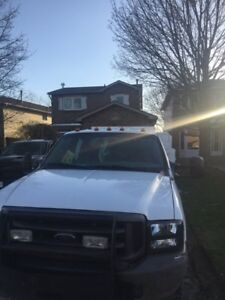 2004 Ford f450 f550 6.0 l dually  4x4 crew cab  for sale 5500$