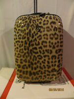 Leopard Print Heys Carry On Luggage