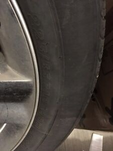 Dodge Journey A/T Tires 225/55R19 on Stock 19 inch Rims 1000 OBO Edmonton Edmonton Area image 3