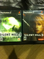Silent Hill 2 and 3 Ps2