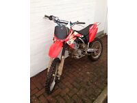 Crf150 motocross bike not YZ KX kTM RM