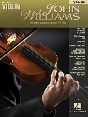 John Williams Sheet Music Violin Play-Along Book and Online Audio 000116367