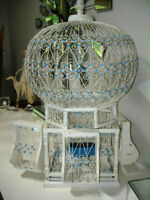 TUNISIA whimsical BIRDCAGE just a super piece CULTURAL decorator