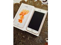 New Apple iPhone 6S Rose Gold 64GB Sim Free