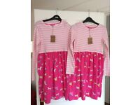 TWO BRAND NEW JOULES DRESSES