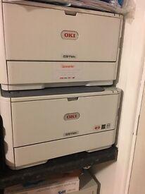 Oki c511dn printer 3 x printers
