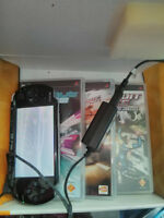 PSP-3000 Series + 3 jeux + charge
