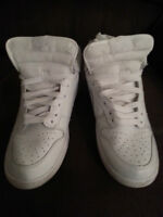 NIKE DUNK HIGH CUT CLASSIC WHITE