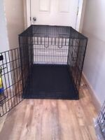 XL dog kennel brand new condition with divider