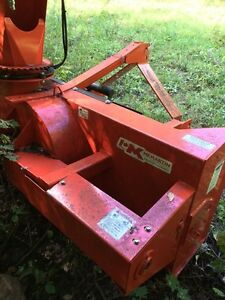 MK Martin 6'pto snowblower mint shape