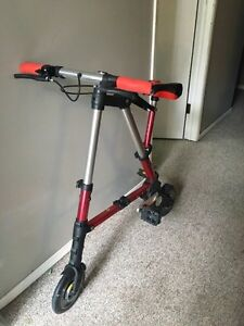 Folding bike with carrying bag for sale